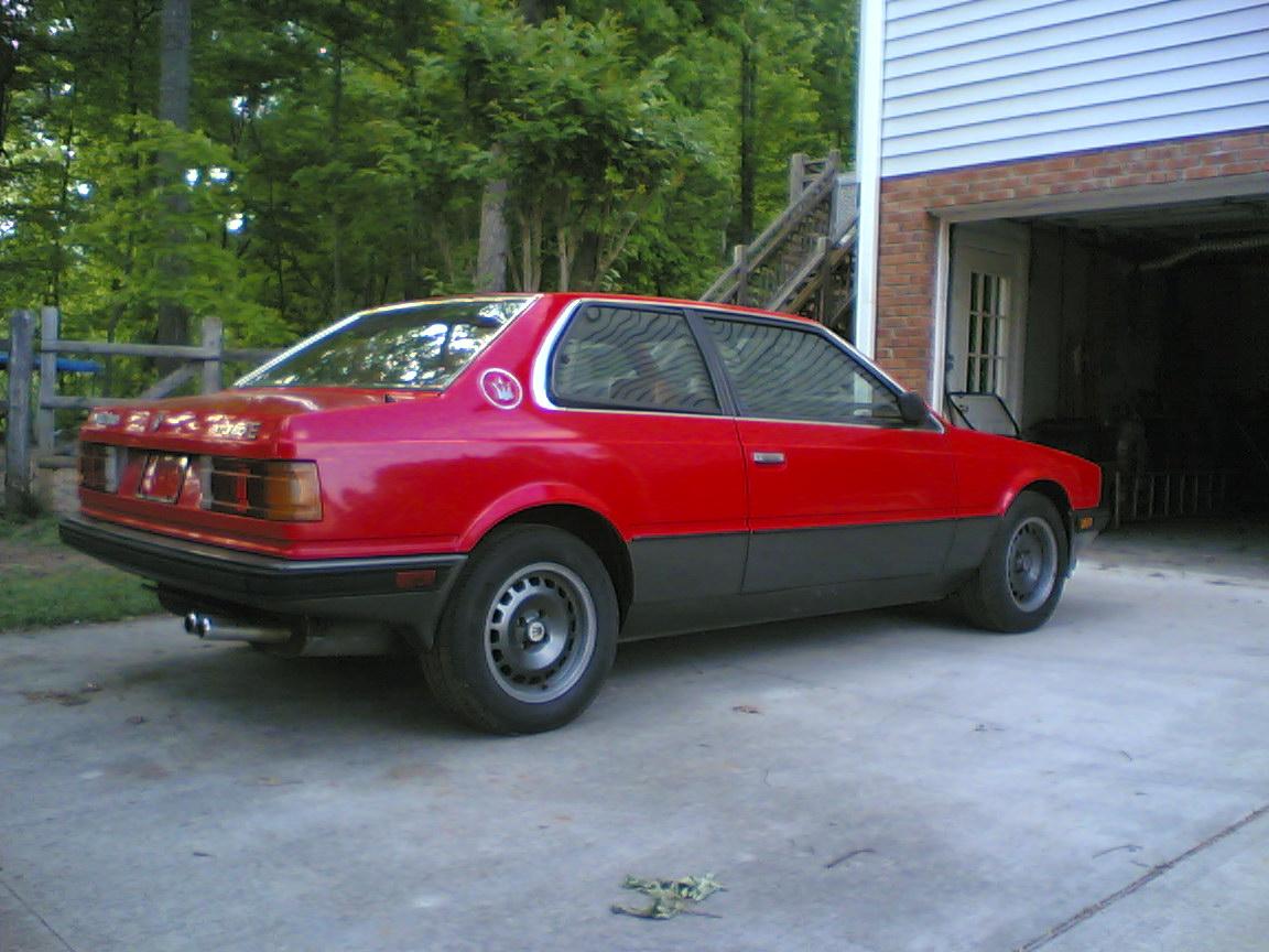 Maserati Biturbo E - the project has begun to revive the 2.5 liter